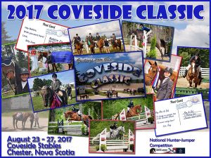 2017 Coveside Classic Official Poster